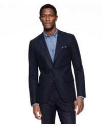 Todd Snyder - Sutton Suit Jacket In Italian Navy Pinstripe Wool - Lyst