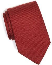 Drake's - Wool/cashmere Textured Tie - Lyst