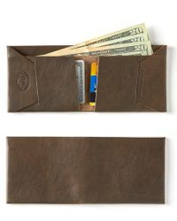 Maxx + Unicorn - Leather Wallet In Olive - Lyst