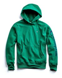 Todd Snyder - Champion Graphic Hoodie In Turf Green - Lyst