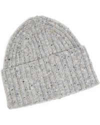 Drake S Drakes  Navy Nordic Wool Hat in Blue for Men - Lyst ebe5f085932d