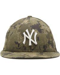 NEW ERA HATS - New York Yankees Cap In Camo Ripstop - Lyst