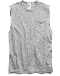Todd Snyder - Muscle Tee In Antique Grey - Lyst