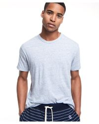 Todd Snyder - Japanese Triblend Tee In Sky Blue - Lyst