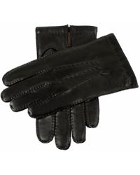 Dents - Dents Shaftesbury Black Leather Touch Tech Gloves - Lyst