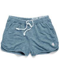 Todd Snyder - Women's Athletic Short In Denim Blue - Lyst