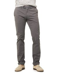 Todd Snyder - Extra Slim Fit Tab Front Stretch Chino In Charcoal - Lyst