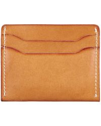 Red Wing - Red Wing Leather Card Holder In London Tan - Lyst