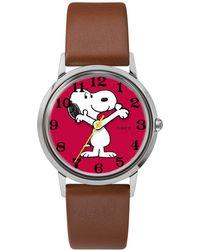 Timex - Timex X Peanuts Snoopy Watch - Lyst