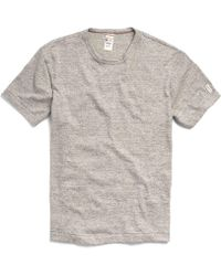 Todd Snyder - Champion Classic T-shirt In Antique Grey Mix - Lyst