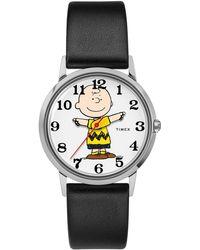 Timex - Timex X Peanuts Charlie Brown Watch - Lyst