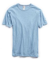 Todd Snyder - Champion Classic T-shirt In Pale Surf - Lyst