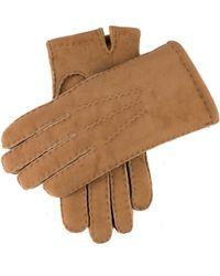 Dents - Dents York Shearling Gloves In Camel - Lyst