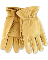 Red Wing - Red Wing Buckskin Unlined Leather Glove In Yellow - Lyst