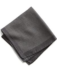 Todd Snyder - Italian Wool Mini Square Pocket Square - Lyst