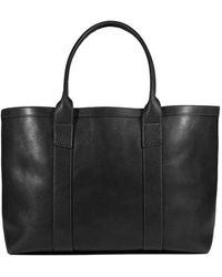 Lotuff Leather - Working Tote In Black - Lyst