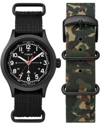 Timex - The Military Watch In Black - Lyst