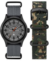 Timex | The Military Watch In Grey | Lyst
