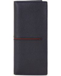 Tod's - Vertical Wallet In Leather - Lyst