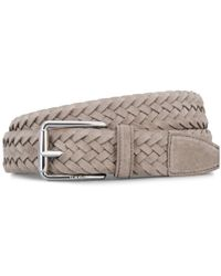 Tod's - Suede Belt - Lyst