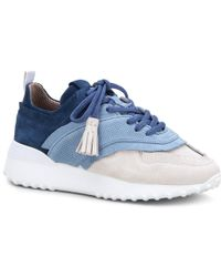 Tod's - Sneakers In Suede - Lyst