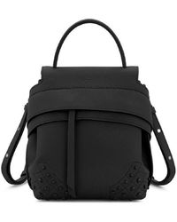 Tod's | Mini Wave Backpack In Leather | Lyst