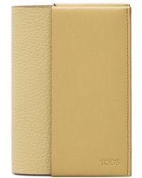 Tod's | Leather Passport Holder | Lyst