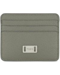 Tod's | Credit Card Holder In Leather | Lyst