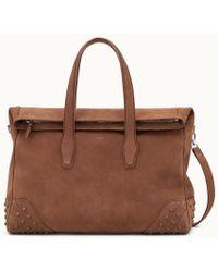 Tod's - Travel Bag Medium In Suede - Lyst