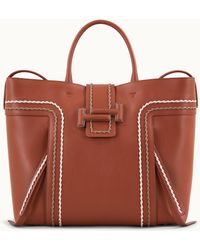 Tod's - Double T Shopping Bag Large - Lyst