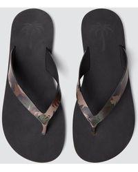 Tomas Maier - Camo Palm Sandal - Lyst
