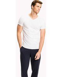 Tommy Hilfiger - 3 Pack V-neck Cotton T-shirts - Lyst