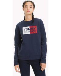 Tommy Hilfiger - Essential Logo Sweatshirt - Lyst