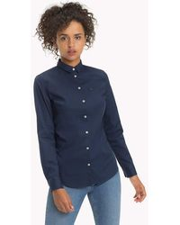Tommy Hilfiger - Stretch Cotton Regular Fit Shirt - Lyst