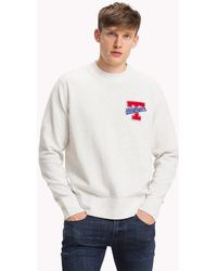4583146f Tommy Hilfiger Colour-block Relaxed Fit Jumper in Green for Men - Lyst