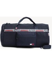 f50b897c92 Tommy Hilfiger - Signature Tape Convertible Duffle Bag - Lyst