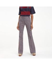 c0f52bcd25a Lyst - Women s Tommy Hilfiger Wide-leg and palazzo trousers Online Sale