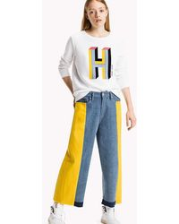 Tommy Hilfiger - Fleece Logo Sweatshirt - Lyst