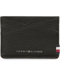 Tommy Hilfiger - Textured Leather Cardholder - Lyst