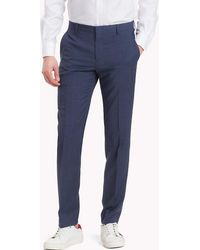 Tommy Hilfiger - Tailored Houndstooth Suit Separate Trousers - Lyst