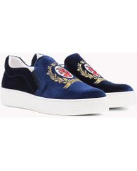 Tommy Hilfiger - Crest Slip-on Trainers - Lyst