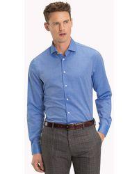Tommy Hilfiger - Print Lining Slim Fit Shirt - Lyst