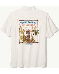 Tommy Bahama - Big & Tall Tiki Lounge Silk Short-sleeve Woven Shirt - Lyst