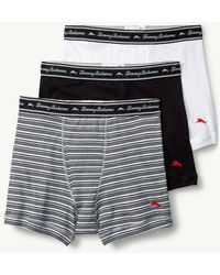 Tommy Bahama - Solid Jersey-knit Boxer Briefs - 3-pack - Lyst