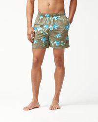 Tommy Bahama - Naples Viejo Voyage 4-inch Swim Trunks - Lyst