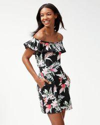 Tommy Bahama - Ginger Flowers Ruffle Swim Dress - Lyst