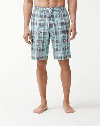 Tommy Bahama - Baja Bianca Bamboo 11-inch Board Shorts - Lyst