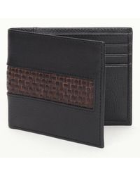 Tommy Bahama - Woven Inlay Slimfold Wallet - Lyst