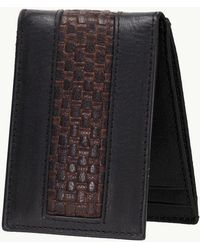 Tommy Bahama - Woven Inlay Magnetic Front Pocket Wallet - Lyst