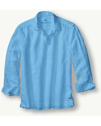 Tommy Bahama - Sea Glass Linen Popover - Lyst